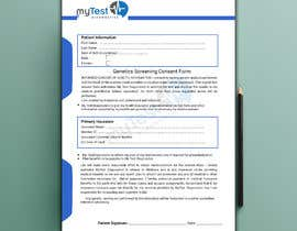 #4 za redesign consent form od arifmahmud099