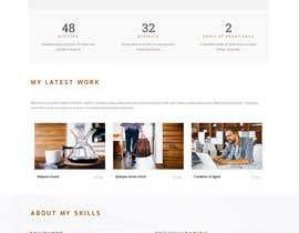 #29 pёr Build me a CV website nga samrarehmano00