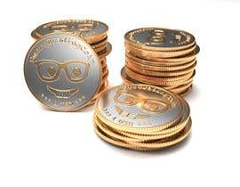 #50 for Design a 3D coin (cryptocurrency) with shiny gold surface and reflections! af Vadymykh