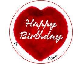 #44 untuk Make me a gift label: Heart 01 oleh Nurulhuda