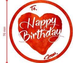 #38 untuk Make me a gift label: Heart 01 oleh asfandyar78655