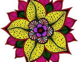 #12 za Colorear dos mandalas (fácil) od yvilera