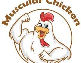 #2 pёr Design Muscular Chicken Logo nga lolasaad1198