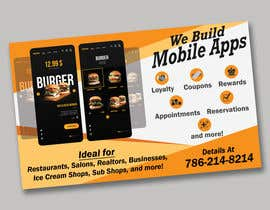 """#4 za 1/2 Page Ad for Building Mobile Apps 8"""" wide X 4.9"""" tall od syedjaved25"""