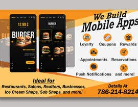 """#6 za 1/2 Page Ad for Building Mobile Apps 8"""" wide X 4.9"""" tall od syedjaved25"""