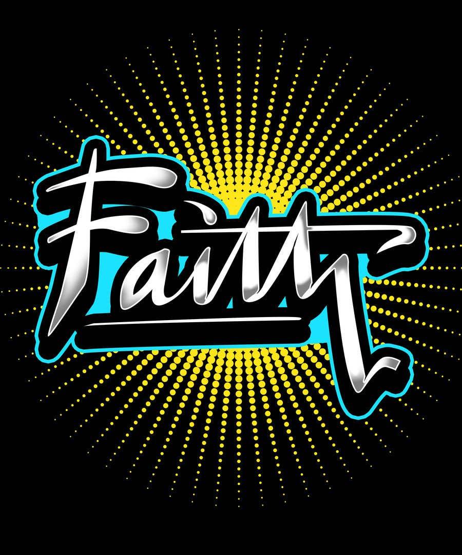 Proposition n°13 du concours Digitize and improve a hand drawn text logo - Faith