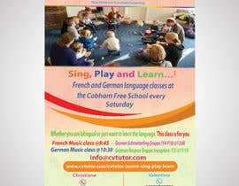 #25 pёr Design a flyer for Childrens language classes nga riza701
