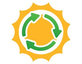 #17 za Design a logo for a sustainability business. No business name in the logo. It should have 3 green arrows around a yellow conceptualised flaring sun. The sun flare should be in the centre and the flares emerge from behind the green arrows. od SaryNass