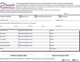#10 za Make a one page employee form od IgeS