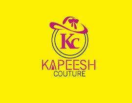 #28 za We are needing this logo attached redesigned. We are needing a more polished and modern design. The colors are hot pink, black and white. This is a women's clothing boutique. Please be original. KAPEESH COUTURE od babitakumawat