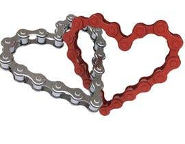 #2 for Create a design for Valentines related with cycling. by Rabeeltoor1