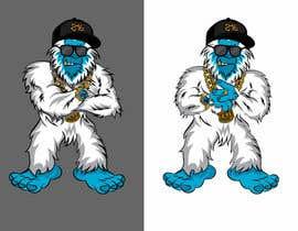 #21 za I need a cartoon Yeti mascot od gilart