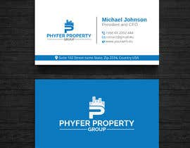 #36 za Need a modern professional Real Estate Logo & Business card layout od wefreebird