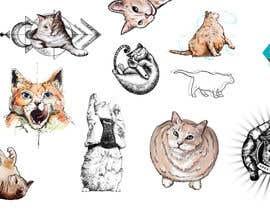 #130 za Draw tattoo style images of my cat od pamaria58