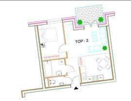 #6 para Architekturdesign -  5 - Flat ground plans design por shahidullah79