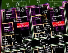 #4 para Architekturdesign -  5 - Flat ground plans design por studiogambartac
