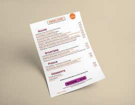 Nro 44 kilpailuun Design/Create funky food menu for bar/restaurant in MS Word käyttäjältä shovonbd321