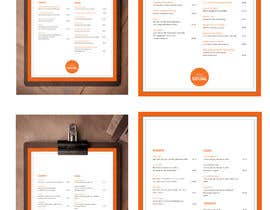 Nro 23 kilpailuun Design/Create funky food menu for bar/restaurant in MS Word käyttäjältä cmarti0318