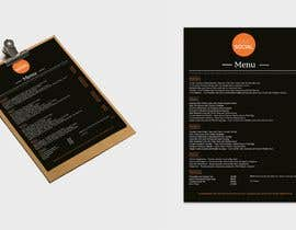 Nro 38 kilpailuun Design/Create funky food menu for bar/restaurant in MS Word käyttäjältä RaffiBD