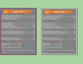Nro 21 kilpailuun Design/Create funky food menu for bar/restaurant in MS Word käyttäjältä NSGraphicDesing
