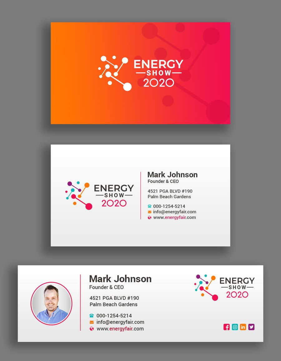 """Intrarea #377 pentru concursul """"Business card and e-mail signature template."""""""