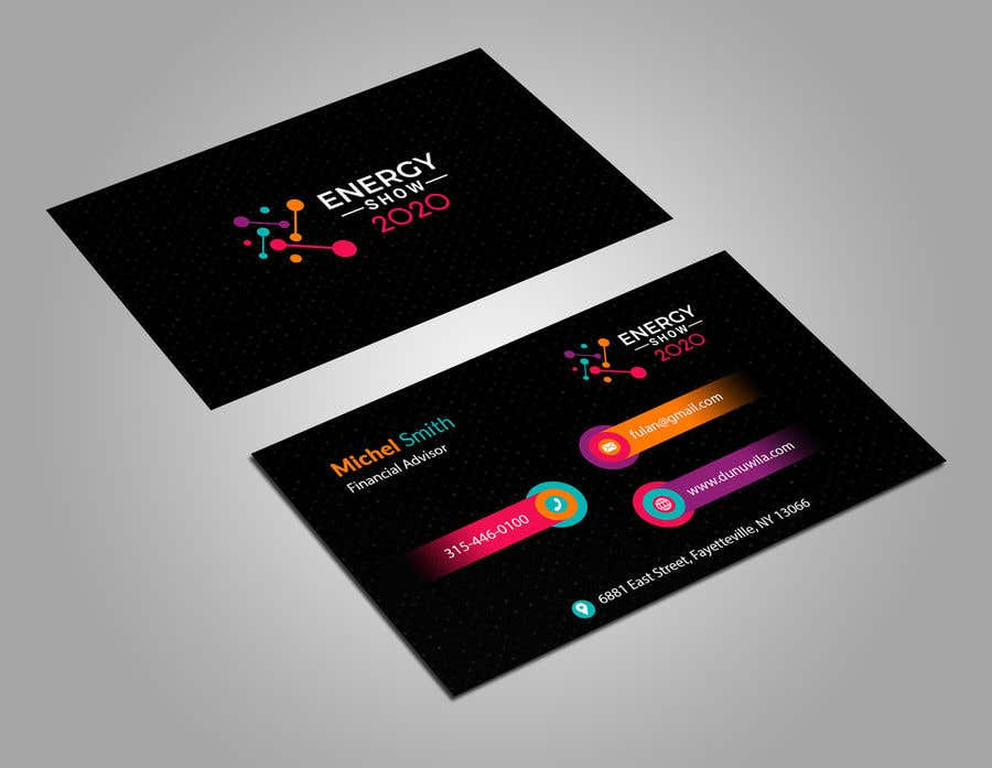 Contest Entry #632 for Business card and e-mail signature template.