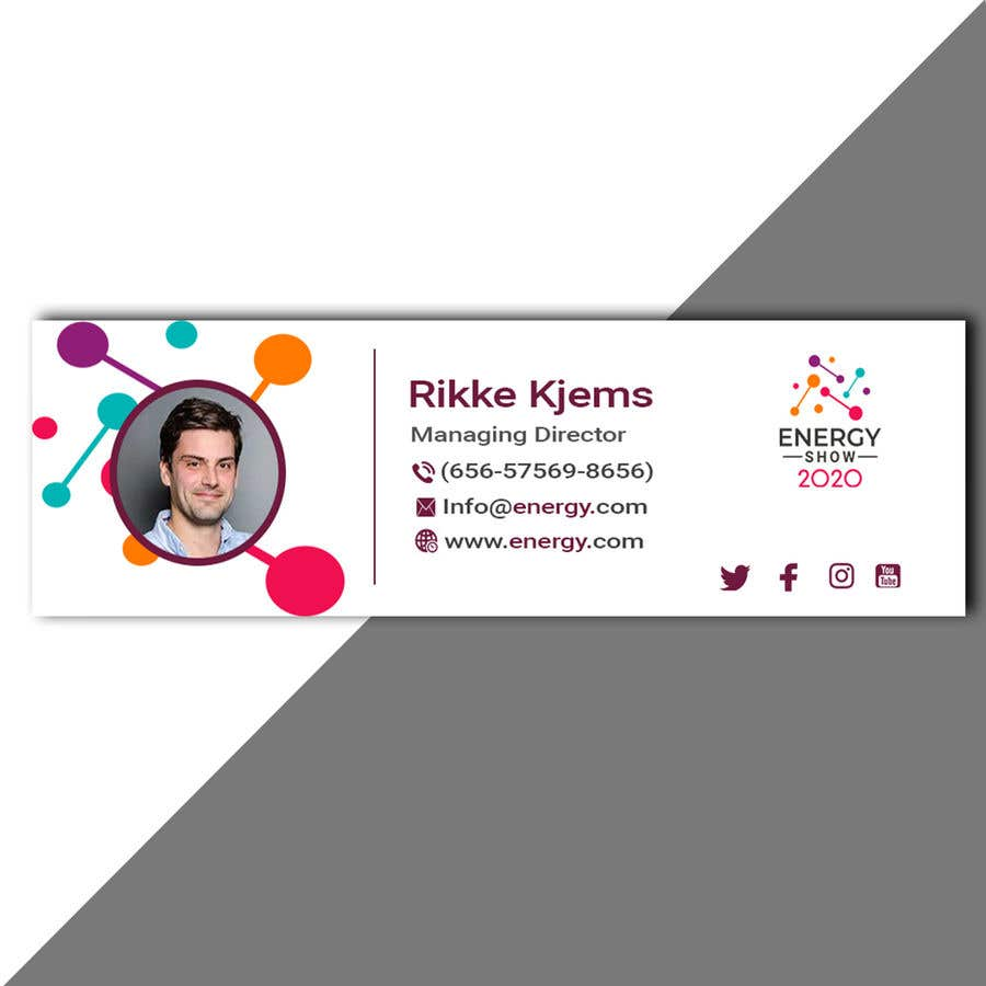 Contest Entry #814 for Business card and e-mail signature template.