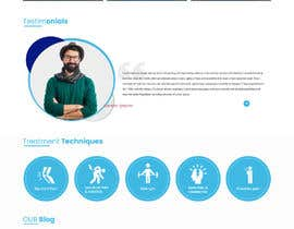 #14 untuk Need PSD for physical therapy website home page oleh saidesigner87