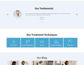 #15 untuk Need PSD for physical therapy website home page oleh saidesigner87