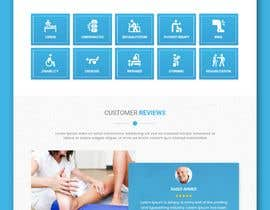 #24 untuk Need PSD for physical therapy website home page oleh TeamAlphaSH