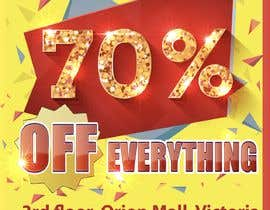 #4 для A Clearance Sale poster of 70% off everything от jamhdesing