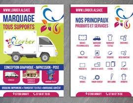 nº 13 pour Conception d'un flyer pour une agence de com par gkhaus
