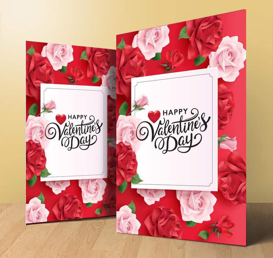 """Intrarea #788 pentru concursul """"Design the World's Greatest Valentine's Day Greeting Card"""""""