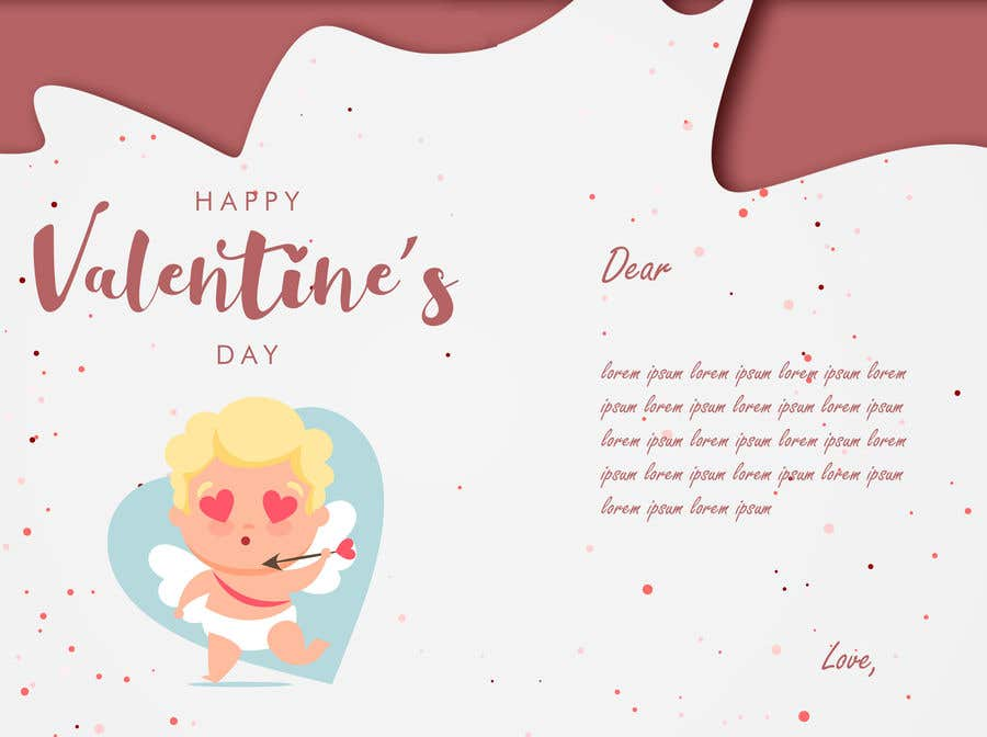 "Intrarea #24 pentru concursul ""Design the World's Greatest Valentine's Day Greeting Card"""