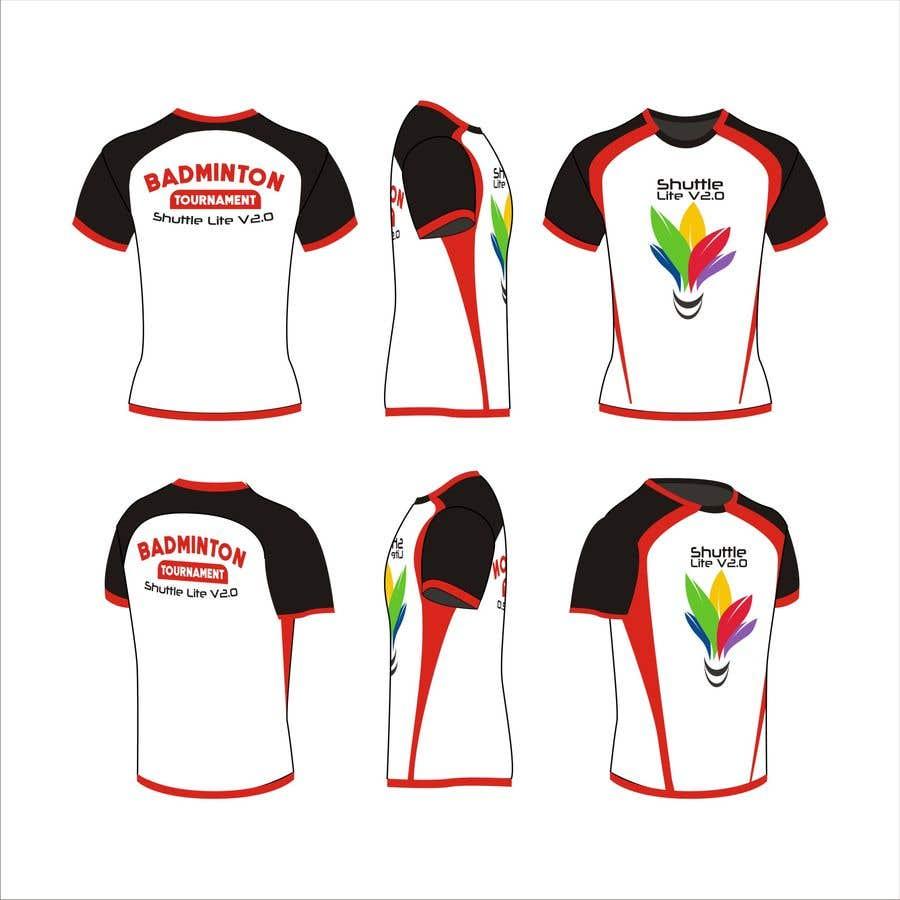 8887e17f Entry #23 by EDUARCHEE for T-shirt Design for Badminton Tournament ...