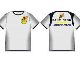 #20 za T-shirt Design for Badminton Tournament od hmahedi640
