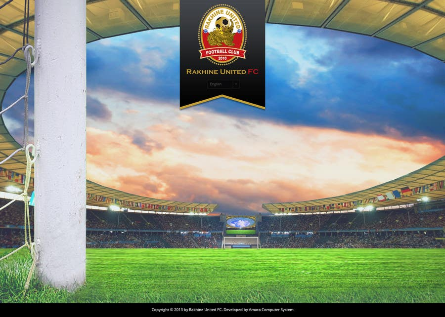Penyertaan Peraduan #2 untuk Graphic Design for Football Club Website Intro Page