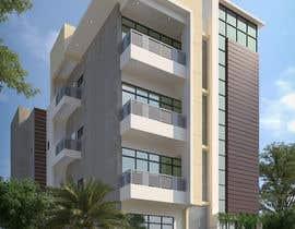 #49 для Improve 3D Building Exterior - Paint, Windows, Balcony, Entrance, Garden от MrRifat