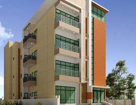 #58 для Improve 3D Building Exterior - Paint, Windows, Balcony, Entrance, Garden от nil369