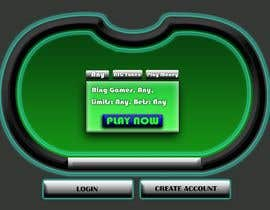 #6 untuk Re-skin My Poker Online Poker System UI oleh Jeilem