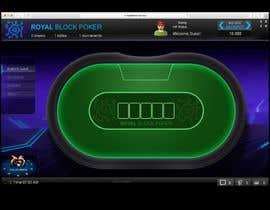 #14 untuk Re-skin My Poker Online Poker System UI oleh icassalata