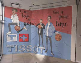 #74 for Art Mural Creative- NBA Theme af sergiovernagallo