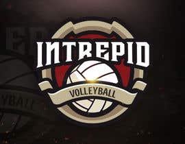 """#8 for Simple and classic volleyball logo for the company name """"Intrepid Volleyball"""" (intrepid means fearless). This must be easily made into shirts and stickers for the business. by ramzanhyder"""