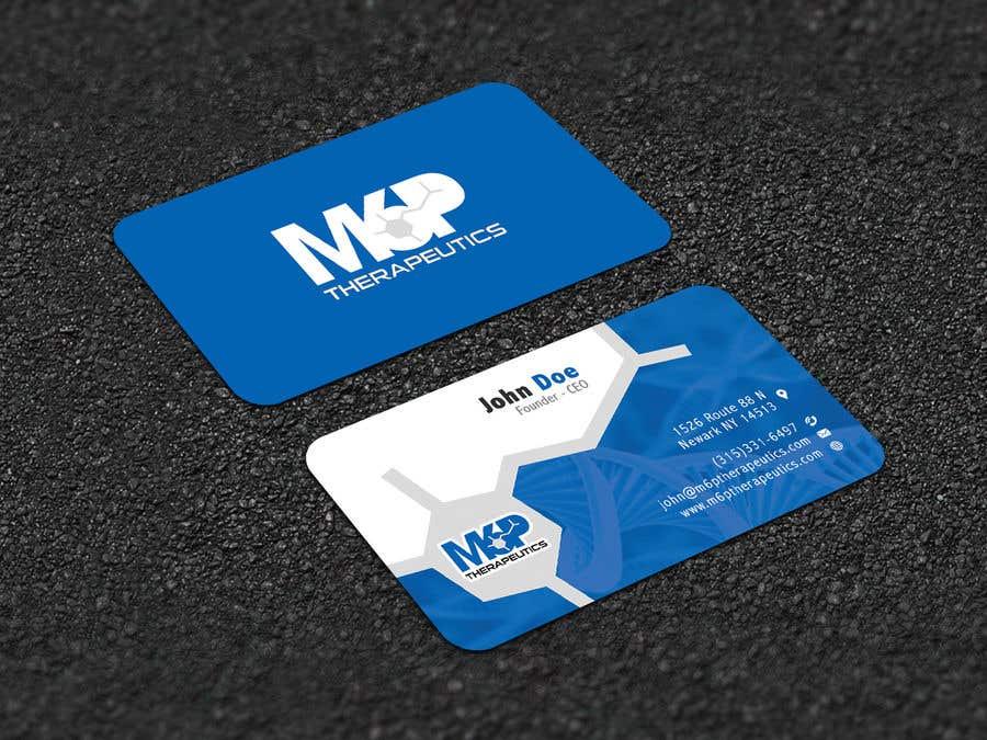 Inscrição nº 432 do Concurso para Design a business card