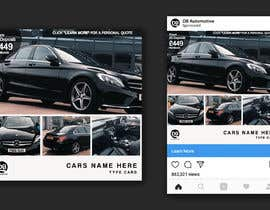 #13 for Hello.  I am trying to redesign my Instagram advert template but my designer is struggling. My brand is DB Automotive. For inspiration I have shown the Multi Cars Brand Which I like.  The winner will give me the PS file so I can use after . Thank you by inihisyam
