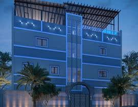 nº 13 pour 3D modeling/rendering of building facade by using 3ds Max to create new color design scheme par MrRifat