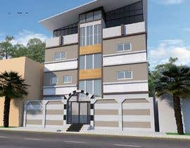 nº 6 pour 3D modeling/rendering of building facade by using 3ds Max to create new color design scheme par souragnighosh