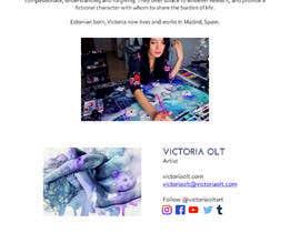 nº 10 pour Send emails to art magazines par salomegb123