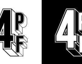 """#1256 dla """"4PF"""" Logo przez gbeke"""