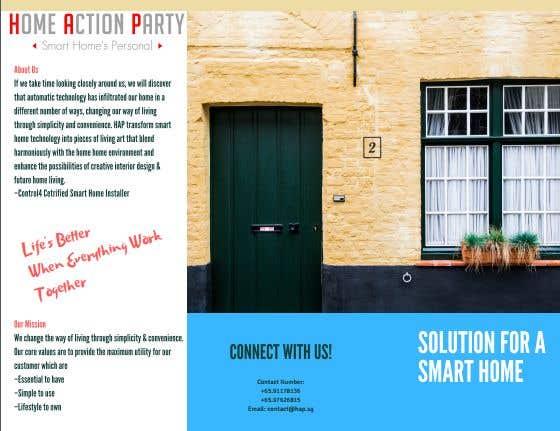Entry #6 by Umairkahloon136 for I need a brochure designer